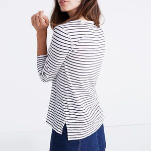 Madewell Stripe Longs Sleeve Shirt